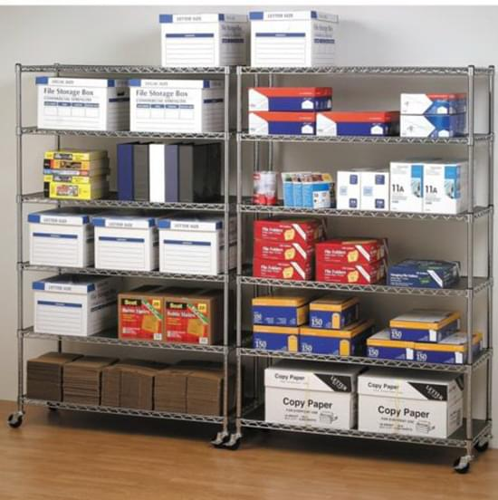 office wire shelving