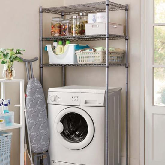 washing machine metal rack
