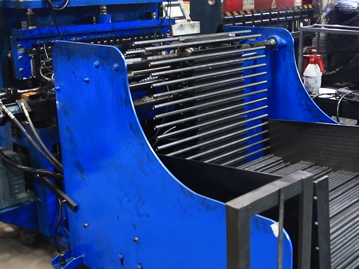 Auto-matic Grooves Pressing Machine