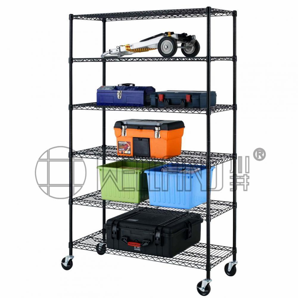 Diy Steel Wire Garage Rack How To A Prevnext