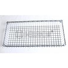 Chrome Wire Basket Shelf 750x350