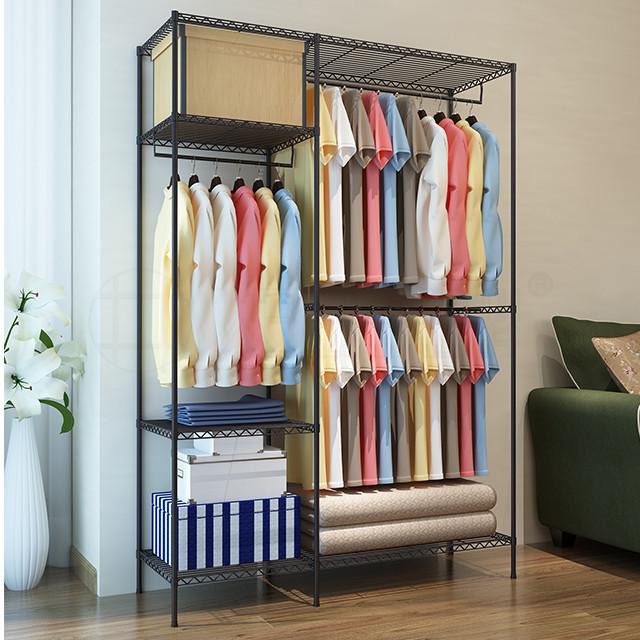 Terrific Diy Adjustable Sturdy Structure Metal Garment Wire Shelf Download Free Architecture Designs Embacsunscenecom